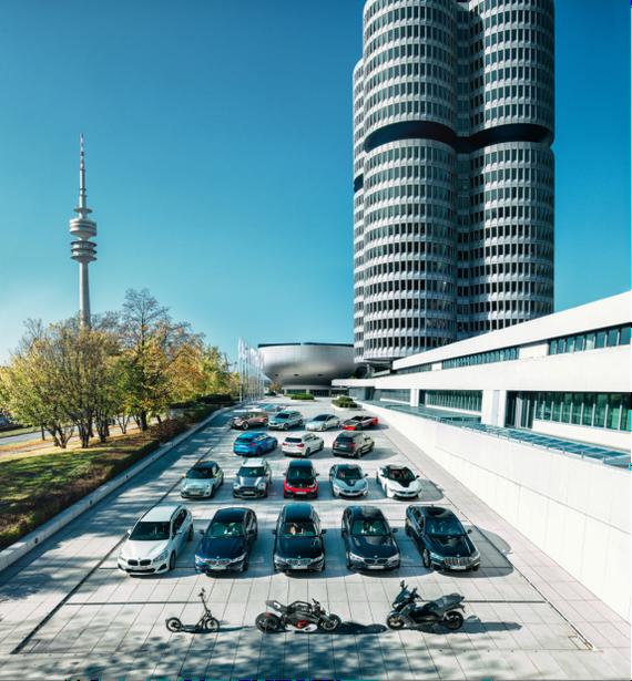 布局未来 宝马交付全球第50万辆电动车