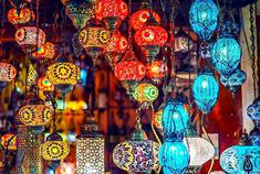 伊斯坦布尔的琉璃灯集市
