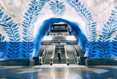 瑞典斯德哥尔摩地铁站