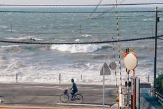 镰仓的大海与电车