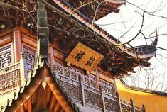 虔诚之美  杭州灵隐寺