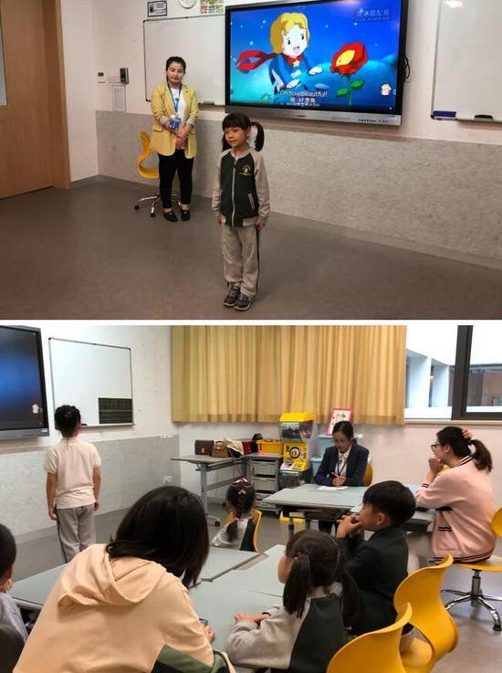 第二届旦旦虎FED青少儿趣味英语配音风采秀走进北京外国语大学附属杭州橄榄树学校任仲夷