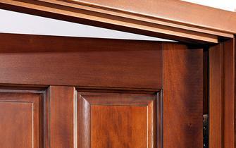 门框安装不当的补救方法