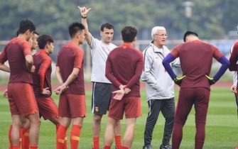 里皮选定对阵缅甸首发阵容