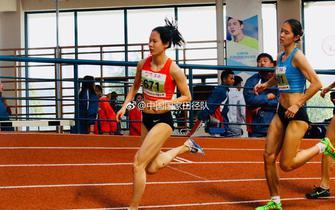 亚运赛场金华籍田径1500米选手郑小倩