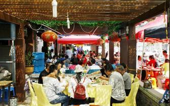 三门县旅游发展40年掠影
