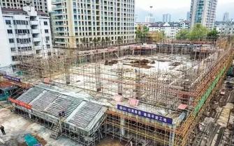 东阳吴宁一中新体育馆预计10月竣工