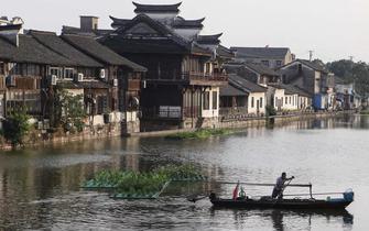 桨声穿越70年 感受壮丽的乌镇三变