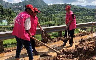利奇马台风过后 天台各方全力开展灾后生产自救工作