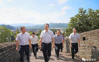 临海市台州府城文化旅游区创5A工作正在持续深入推进