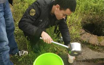 生态环境局查处一起私设暗管逃避监管排放水污染物案件
