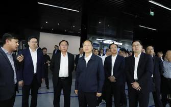 台州市党政代表团来越城区调研