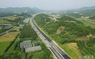 铺设沥青!351国道衢州市区段预计明年6月通车……