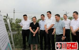 9月16日绍兴市委副书记、市长盛阅春在滨海新区调研