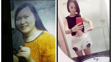 减肥如整容!杭州176斤胖妹变长腿女神