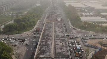 宁波福庆南路工程项目创了个全国第一