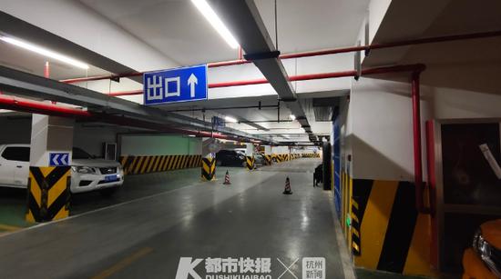市中心的这个地下停车库 已向周边居民提供包月服务