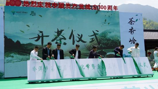 岭洋乡成功举办第三届茶文化节