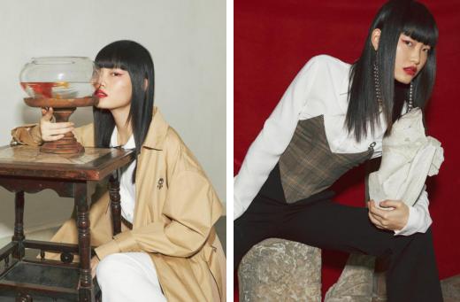 伊芙丽演绎国潮来了,与新锐设计师共诉东方原创力