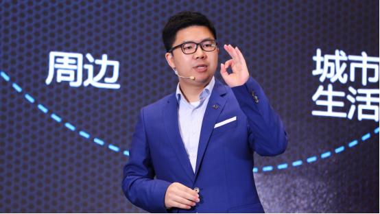 比亚迪汽车销售有限公司总经理赵长江先生致辞