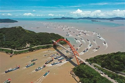 象山县第一批千余艘渔船正式解禁开捕 三个月禁渔期结束