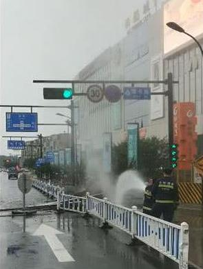 杭州宜家附近发生天然气泄漏