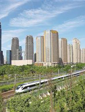 绍兴城际线今日进杭