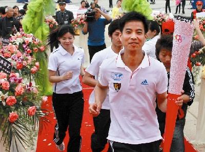 2008奥运火炬手张锦林