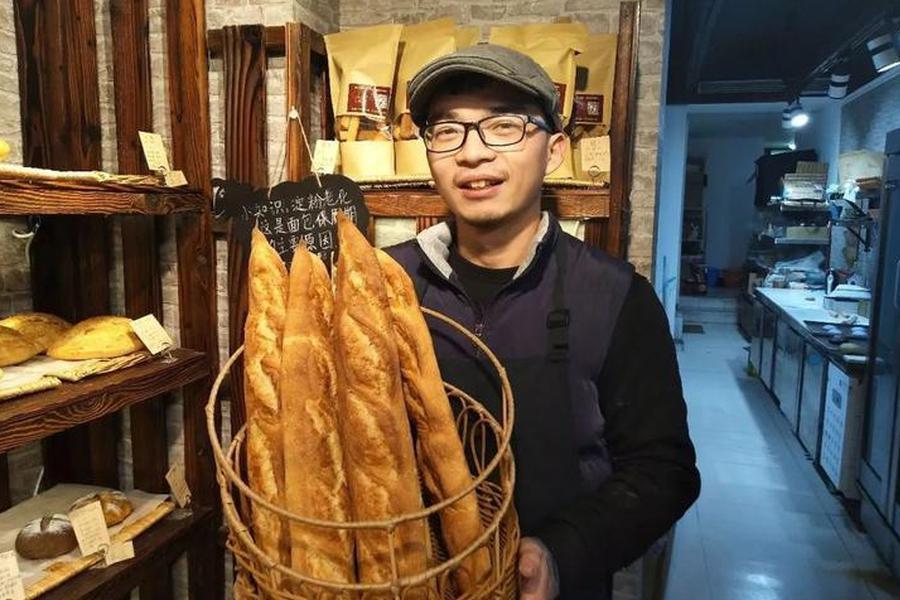 浙大硕士学医7年弃博卖面包