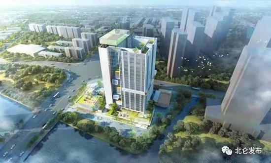 北仑青年创业创新大厦效果图