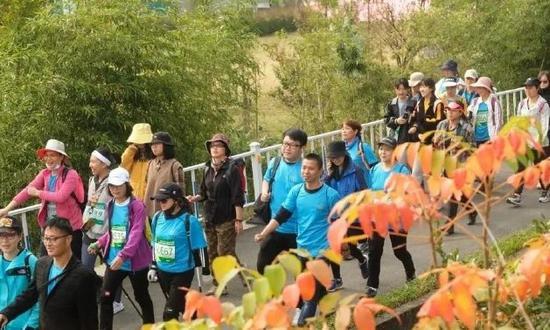 百万公里健身步道宁波发布会举行 宁波11条新步道亮相