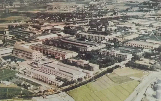 杭氧东新路厂区图据自运河南端工业图史