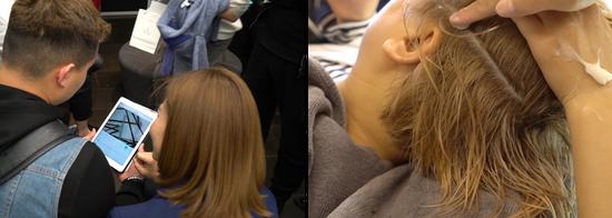 头皮检测与现场体验