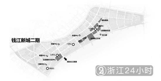 (▲图:钱江新城二期效果图,龚子皓/制图)