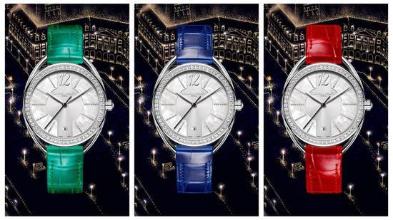 CHAUMET Liens Lumière系列腕间珍宝,为经典注入最新颖的当代精神(提供绿色/蓝色/红色表带等多色表带选择)