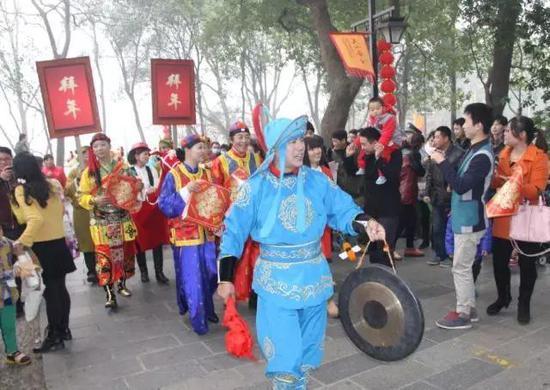 花展庙会游园会看大戏 春节杭州西湖边够你玩(图)