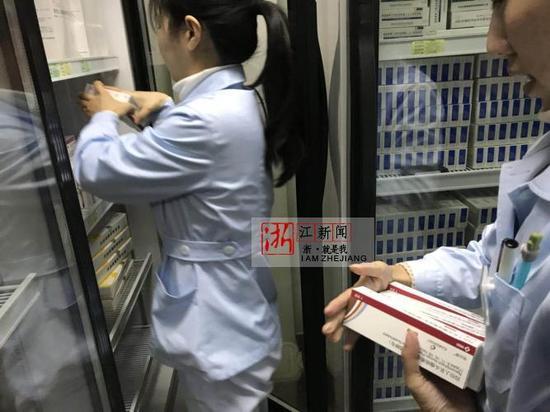 杭州市闸弄口街道社区卫生服务中心已开展4价HPV疫苗接种。唐梦霞 摄