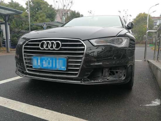 莫先生车子的损坏情况