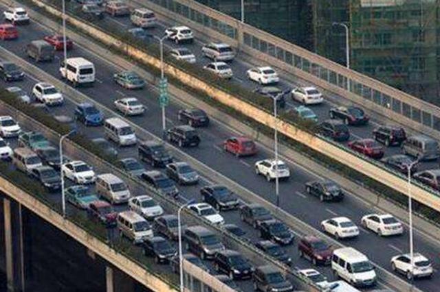 杭州交通拥堵规律:周一早高峰最堵 周三早高峰最空