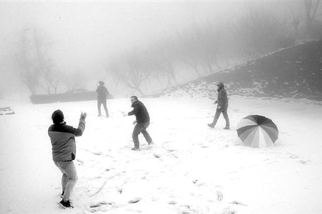 浙江多地昨天下雪 杭州下周最低气温将跌至0℃以下