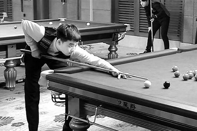 杭州15岁追梦少年休学打斯诺克 立志做杭州版丁俊晖