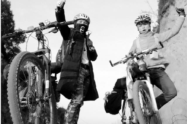 杭州90后厨师9天骑行1472公里 穿越4个省回老家过年
