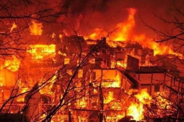 浙江全省去年发生火灾4099起 死亡20人受伤7人