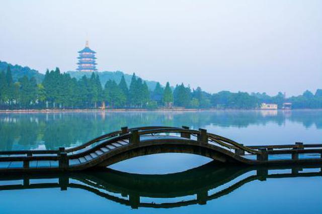 春节期间杭州西湖迎客321万人次 总体略有下降