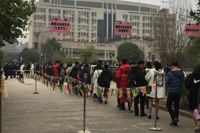 浙传艺考复试迎3万余考生 播音编导仍是报考重头戏