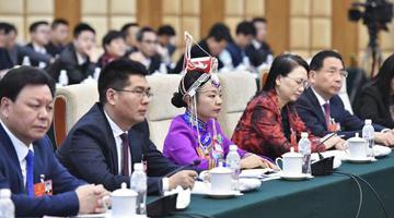 浙江代表团审议政府工作报告