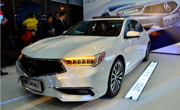 广汽讴歌TLX-L杭州上市 售27.98万元起