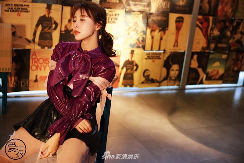 贾青最新杂志大片 演绎年度流行色领跑时尚