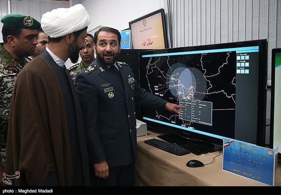 伊朗方面公布的防空指揮系統畫面里,能夠看到其處理的信息主要是伊朗沿海地區