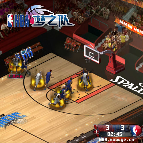 NBA梦之队游戏截图